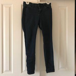 Super dark wash jeans